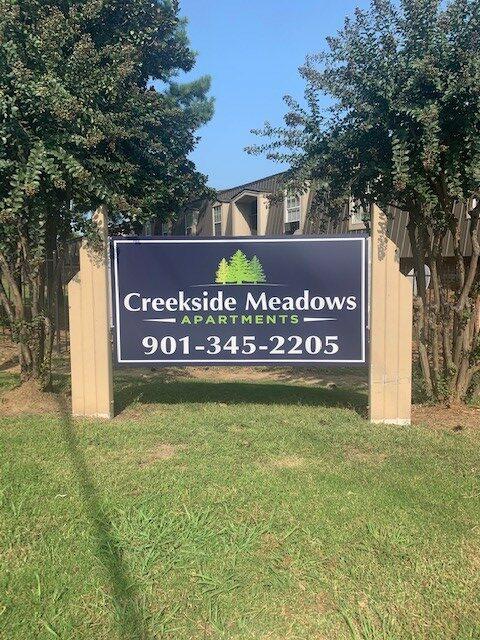 Creekside Signage #1