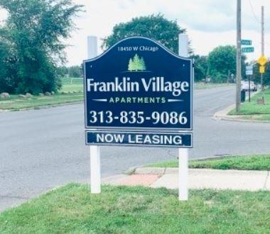 Franklin Village - Signage